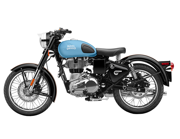 Royal Enfield Bullet Classic 500 In Redditch Blue Manhattan