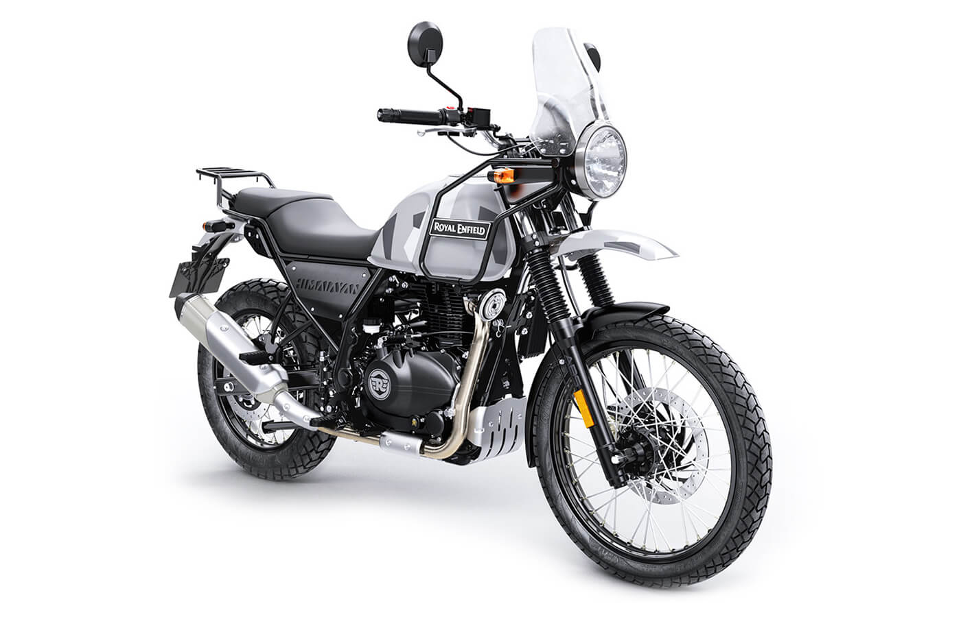 Royal Enfield Himalayan 411cc Colour Sleet Manhattan Motorcycles Ltd